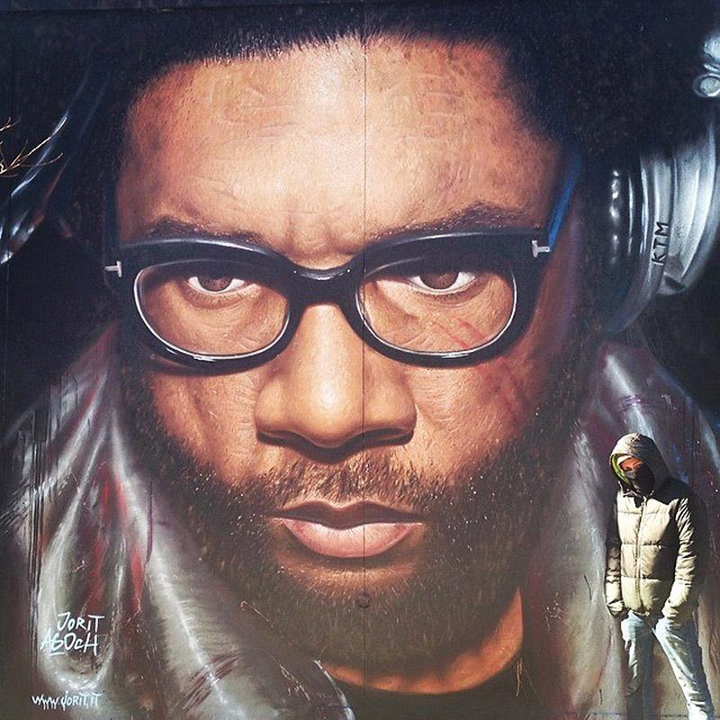 Hyperrealistic Street Art Portraits by Jorit AGOch (4)