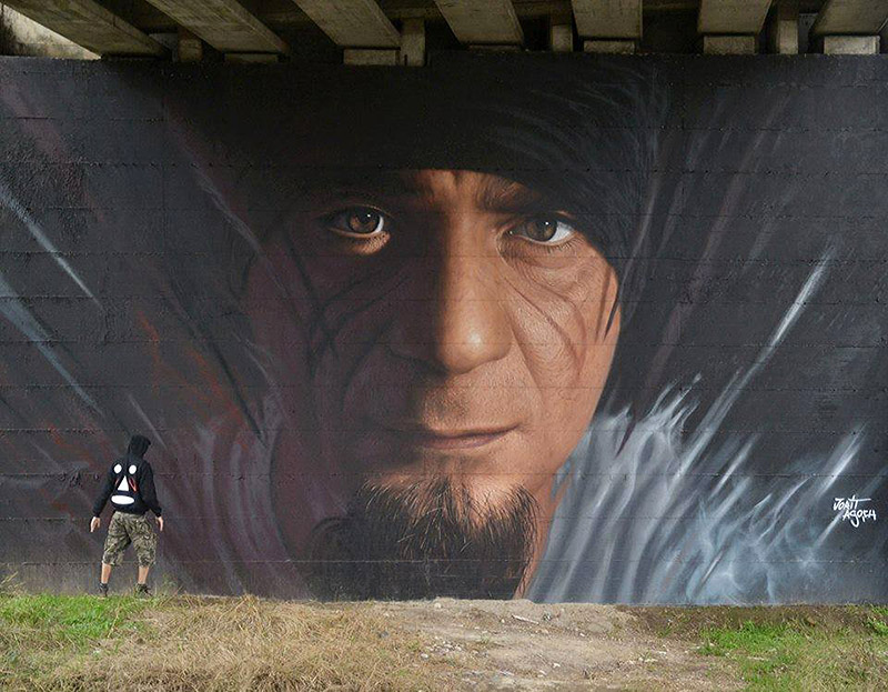 Hyperrealistic Street Art Portraits by Jorit AGOch (9)