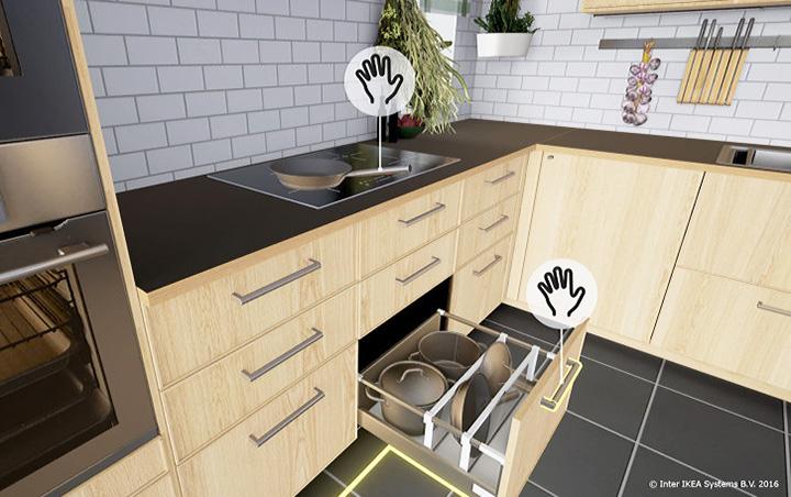 ikea brings kitchen design to virtual reality quiet corner