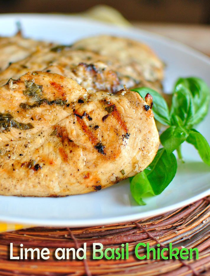 Lime and Basil Chicken