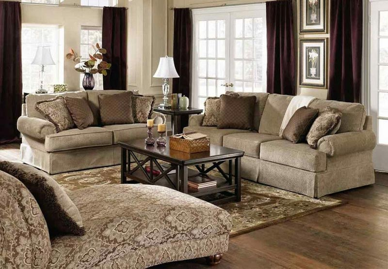 Living Room Carpet Ideas and Photos (1)