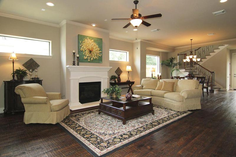 Living room carpet ideas and photos quiet corner Living room ceiling fan ideas