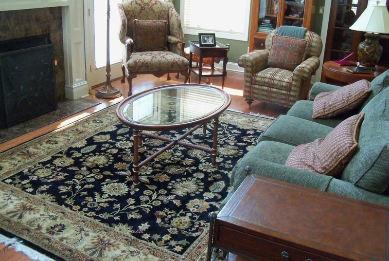 Living Room Carpet Ideas and Photos (20)