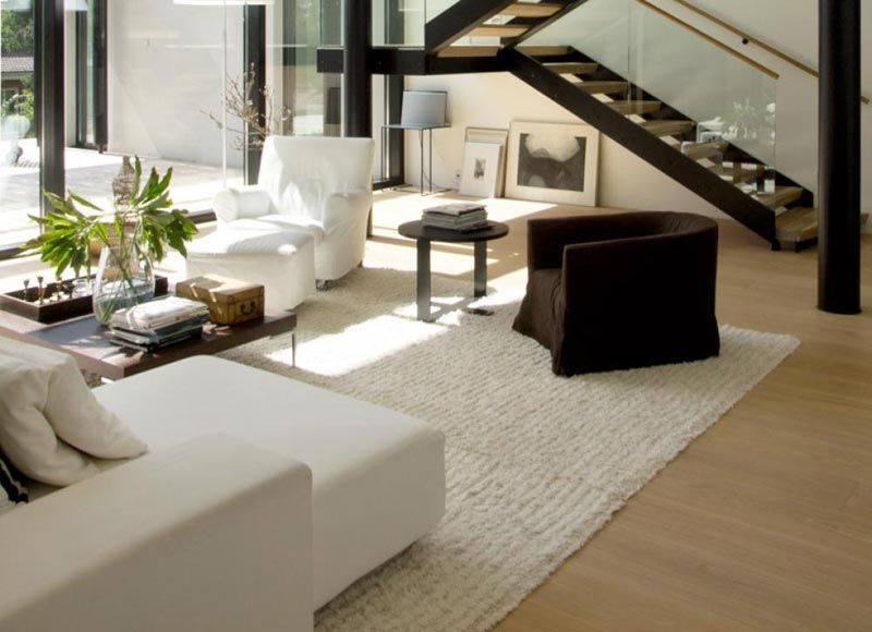 Living Room Carpet Ideas and Photos (6)