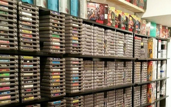 Man Selling Collosal Video Game Collection for $150K