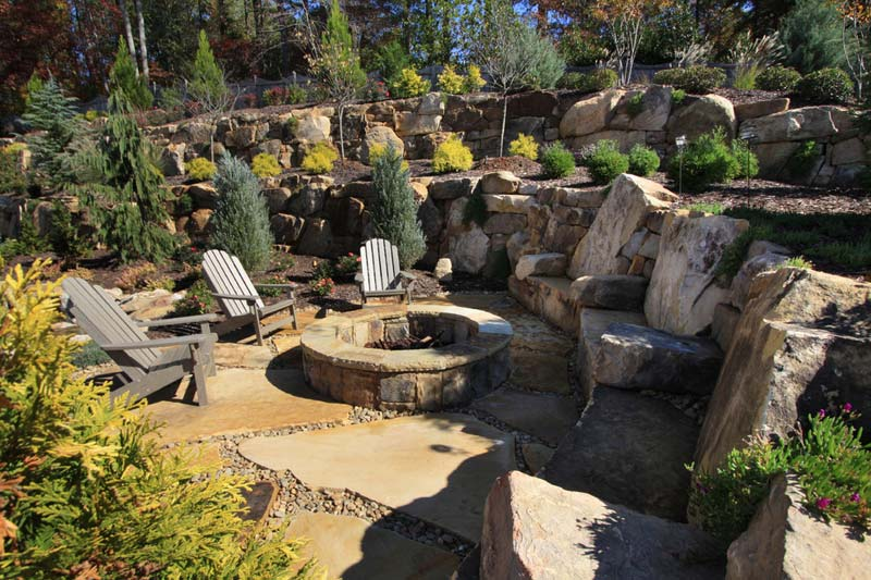 Outdoor Fire Pit Seating Ideas (14)