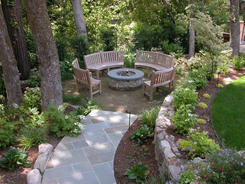 Outdoor Fire Pit Seating Ideas (20)