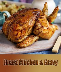 Roast Chicken & Gravy