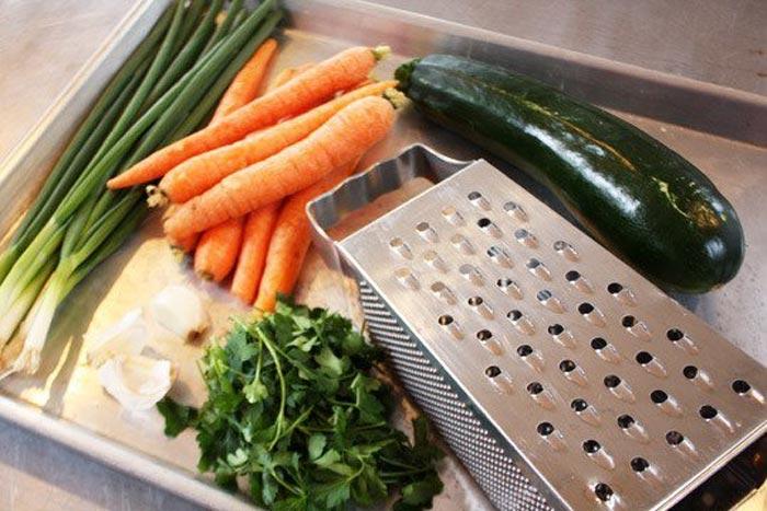 Savory Carrot & Zucchini Pancakes-1