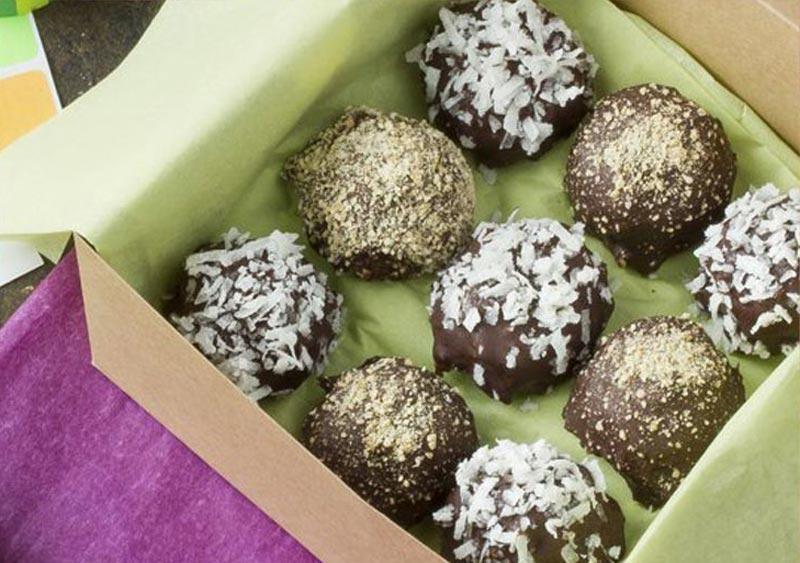 Seven Layer Truffles