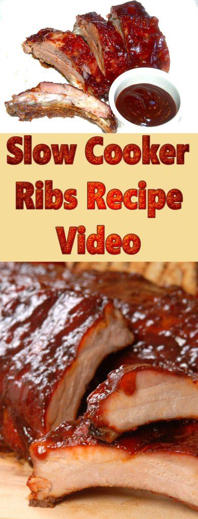 Slow Cooker Ribs Recipe Video - Quiet Corner