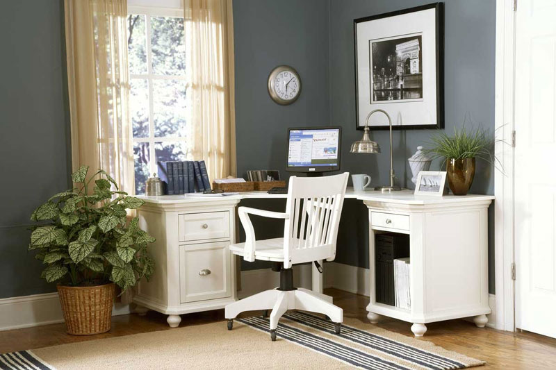 Interior Design Home Office small home office interior design - quiet corner
