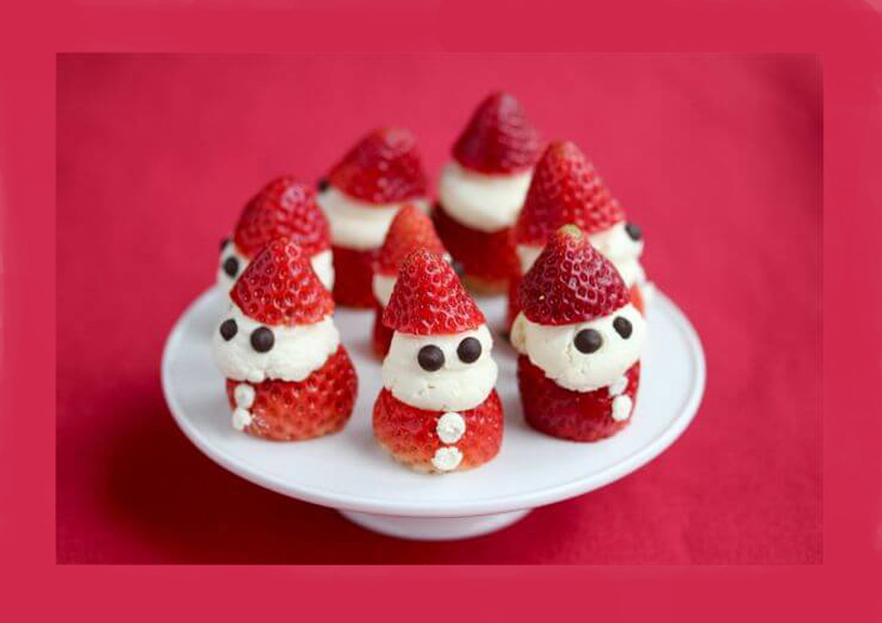 Strawberries and Cream Elves