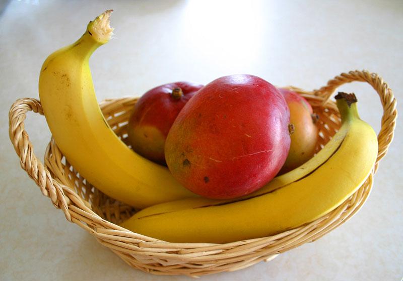 Tropical Mango Banana Pie