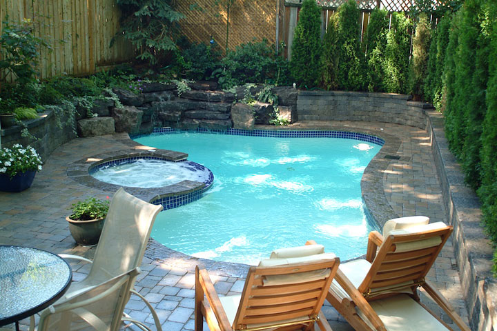 Wonderful Mini Swimming Pools Ideas Quiet Corner