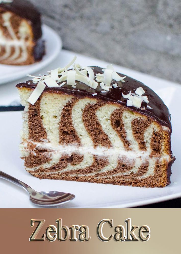 Zebra Cake – How To Make