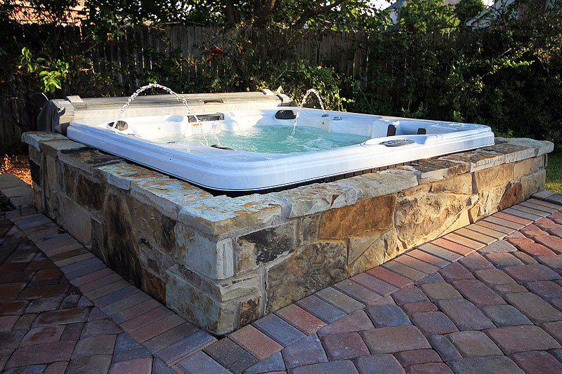 The best water features for your yard quiet corner for Cal spa gazebo