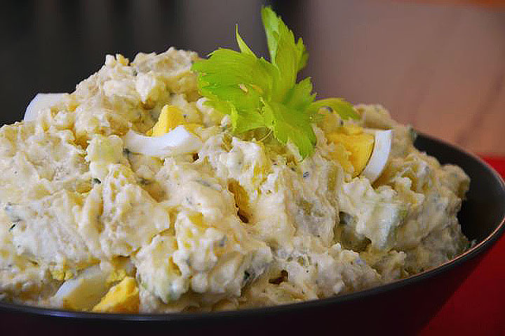 Egg and Potato Salad Recipe