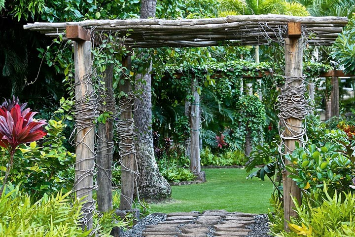 Backyard Landscape Design Ideas Quiet Corner