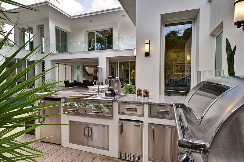 Beautiful Outdoor Kitchen Ideas for Summer