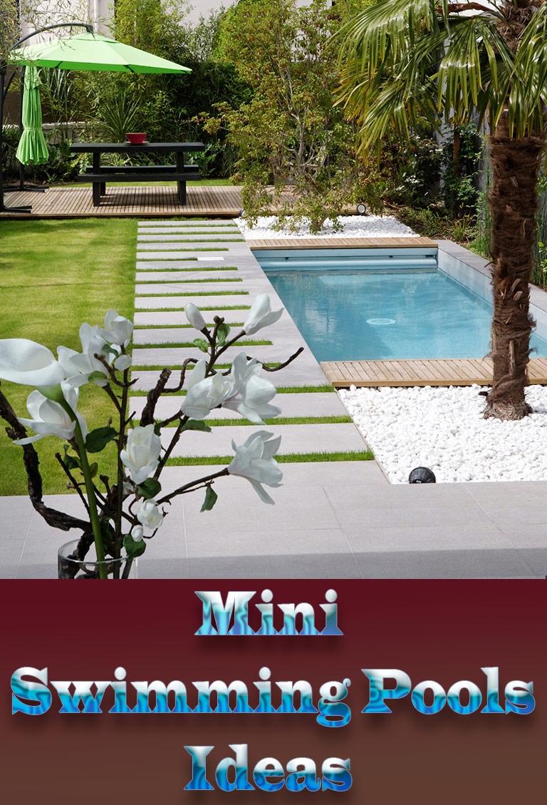 Wonderful mini swimming pools ideas quiet corner for Garden mini pool
