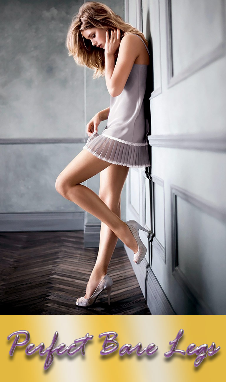 Six Steps to Perfect Bare Legs