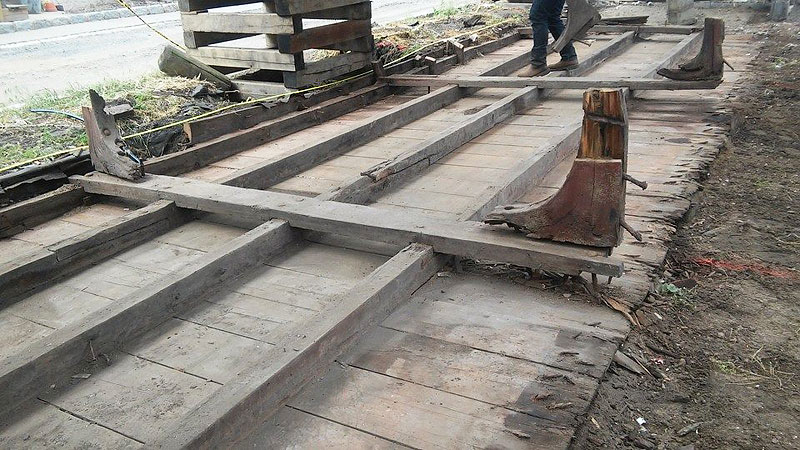 19th century boat found under New Jersey home