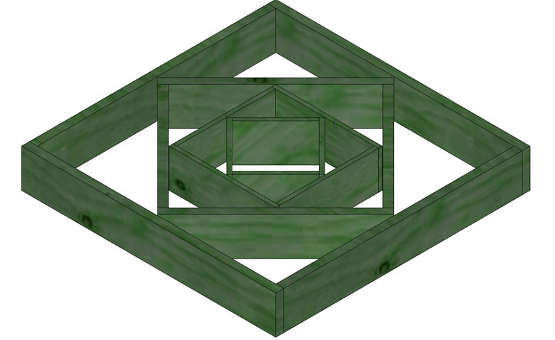 DIY - Diamond Planter