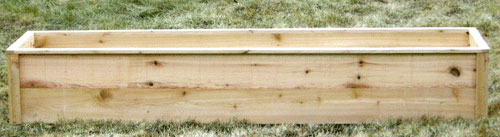 DIY - Cheap Cedar Raised Beds