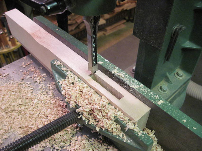Wood Joinery - Mortise and Tenon Joint
