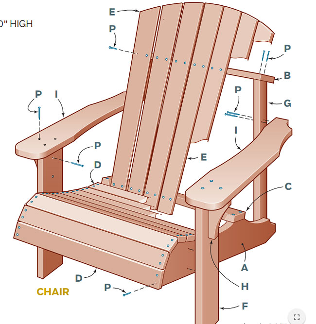 DIY - Adirondack Chair and Table