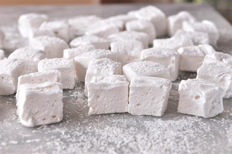 Homemade Marshmallows - Video Recipe