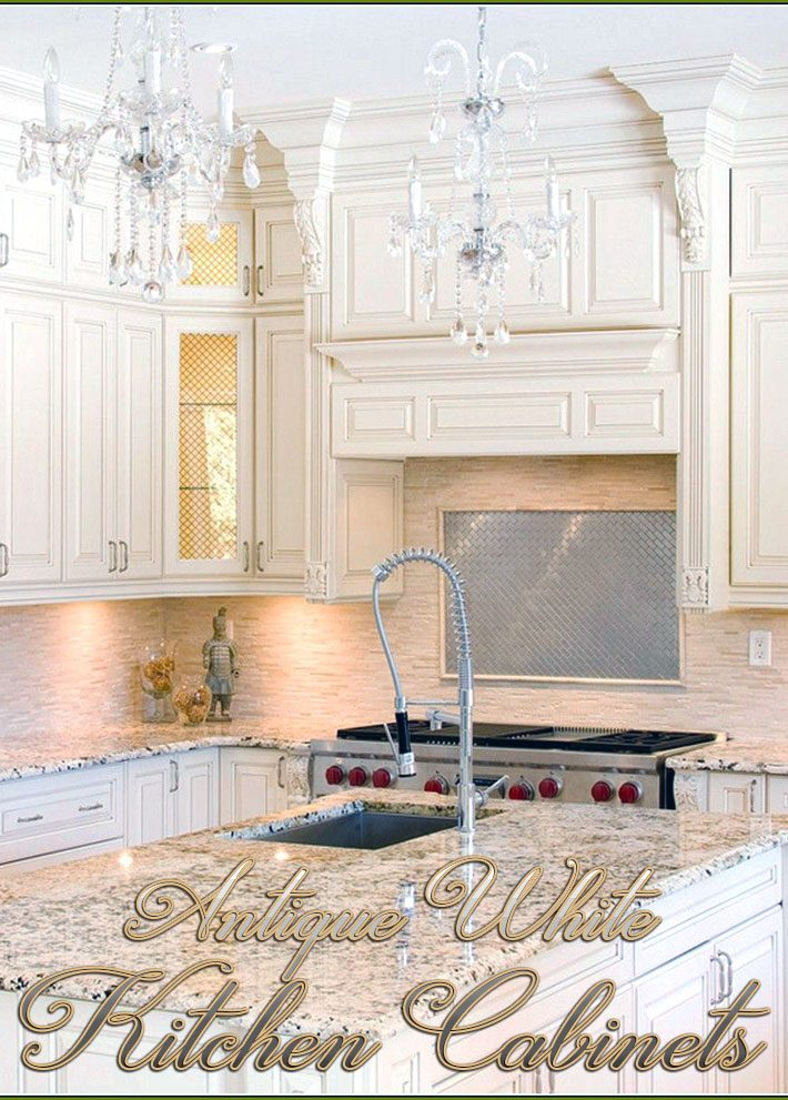 Kitchen Ideas – Antique White Kitchen Cabinets