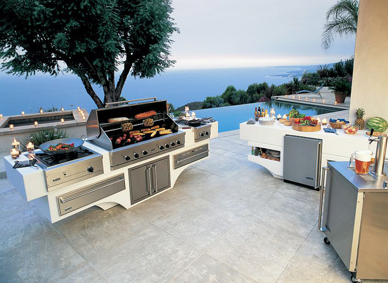 awesome outdoor kitchen designs and ideas - quiet corner