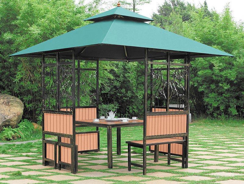 Backyard Gazebo Ideas Quiet Corner