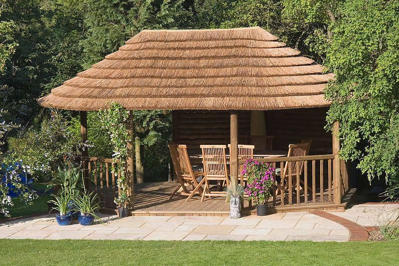 backyard gazebo ideas quiet corner. Black Bedroom Furniture Sets. Home Design Ideas