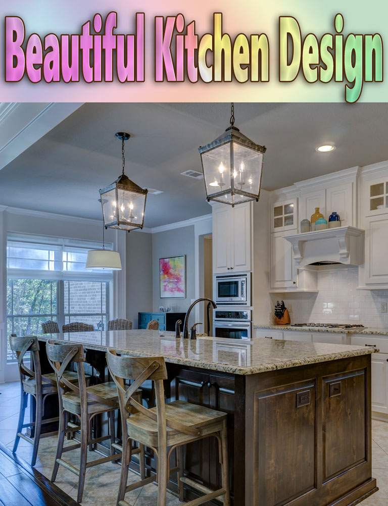 Beautiful kitchen design quiet corner for Beautiful kitchen designs