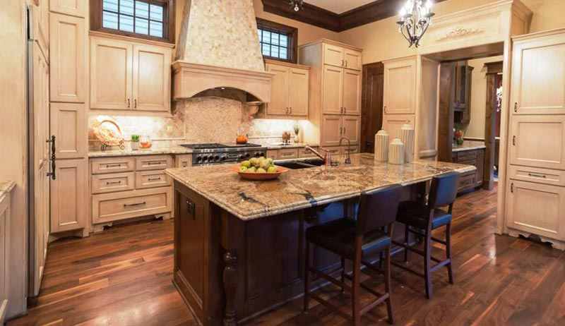 beautiful kitchen island beautiful kitchen islands ideas and tips corner 1555