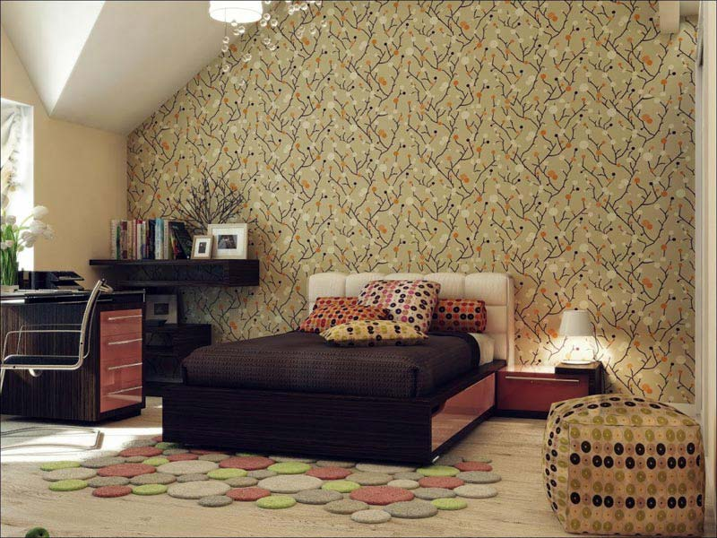 Beautiful Wallpaper Designs For Bedroom 1  Beautiful Wallpaper Designs For  Bedroom Quiet Corner. Wallpaper For Bedroom