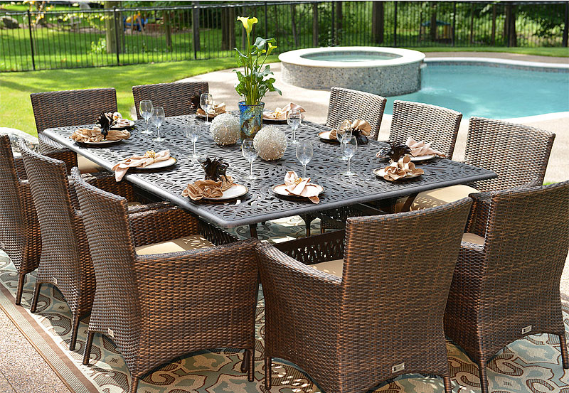 Beauty Of Wicker Outdoor Furniture Quiet Corner