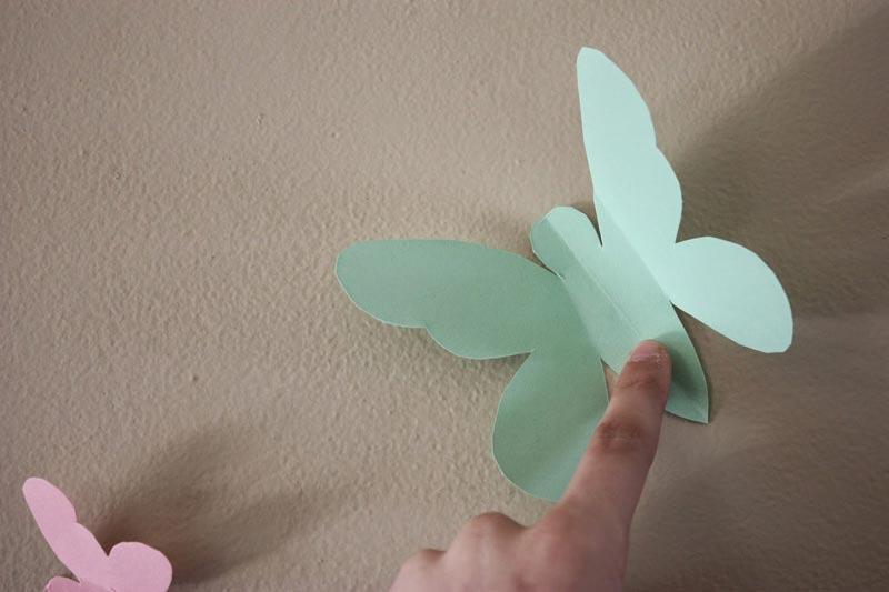 Butterfly Pattern Wall Decor (4)
