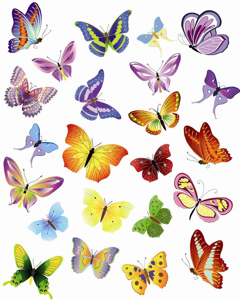 Butterfly Pattern Wall Decor (5)