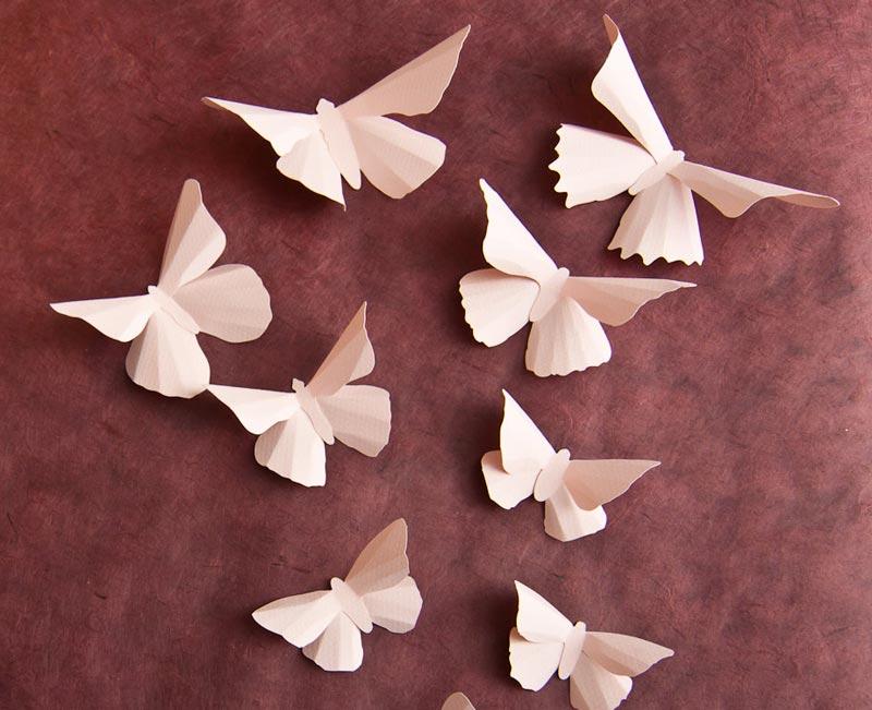 Butterfly Pattern Wall Decor s (5)