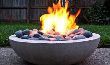 DIY – Modern Concrete Fire Pit