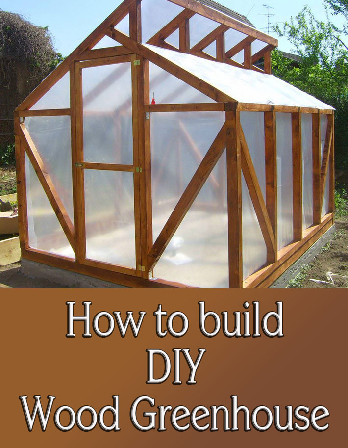 DIY - Wood Greenhouse - Quiet Corner