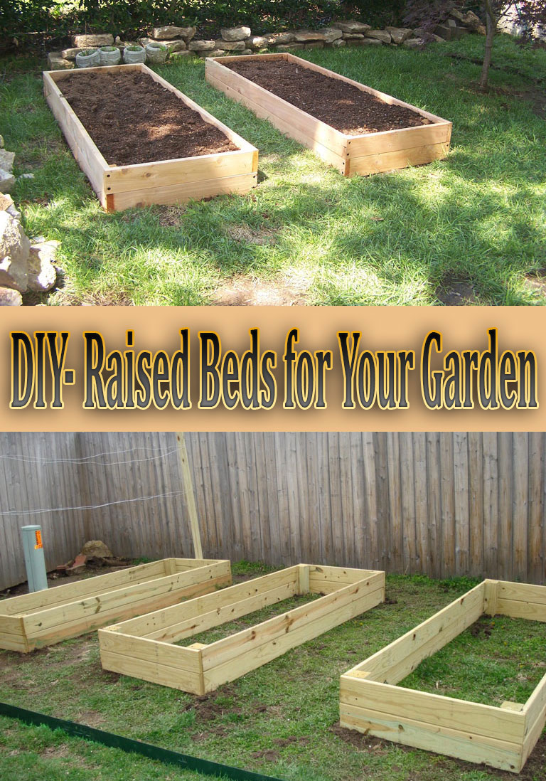 Diy Raised Beds For Your Garden Quiet Corner