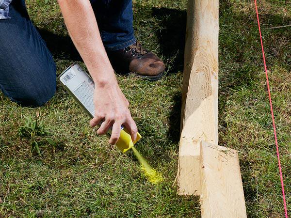 DIY - Simple Split-Rail Fence