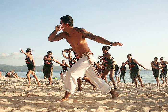 Capoeira Dance as Workout