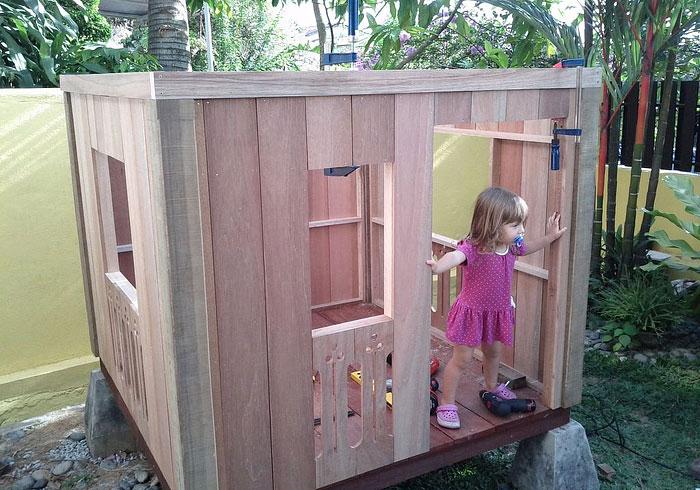 DIY – Balinese Styled Playhouse