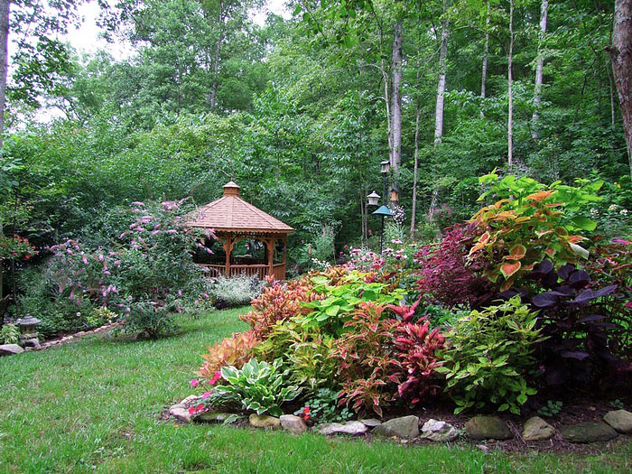 Garden Island Bed Inspiring Ideas Quiet Corner